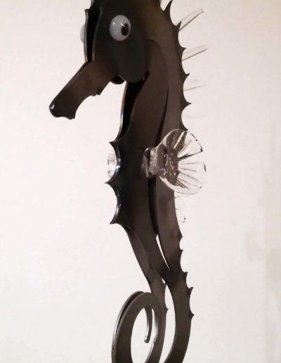HIPPO CLAIR - Verre, métal